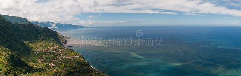 свободный полет Мадейра северная стоковая фотография