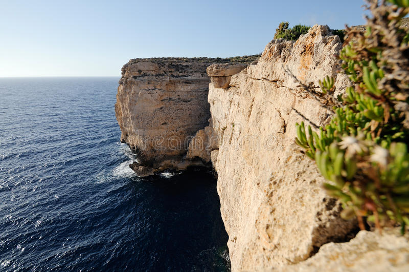 свободный полет malta стоковые изображения