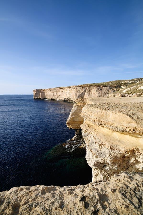 свободный полет malta стоковое изображение