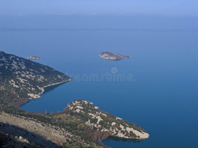 свободный полет montenegro стоковое изображение