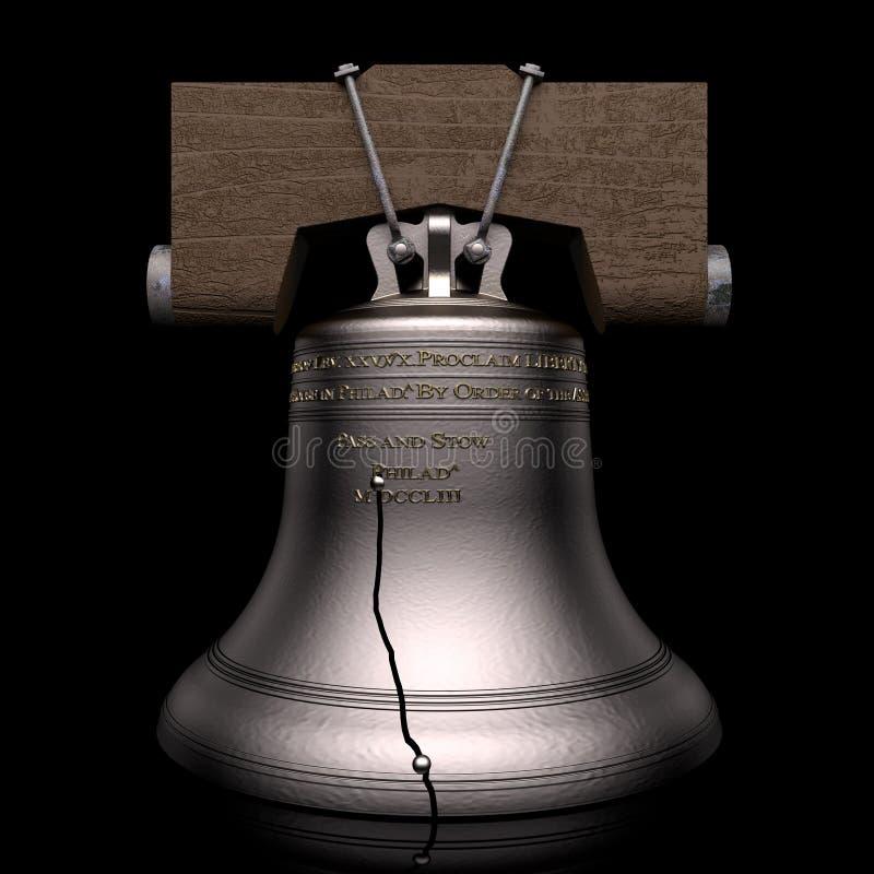 Свобода колокол иллюстрация штока