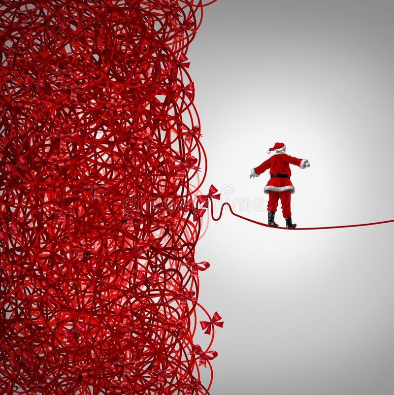 Свобода Санта Клауса иллюстрация вектора