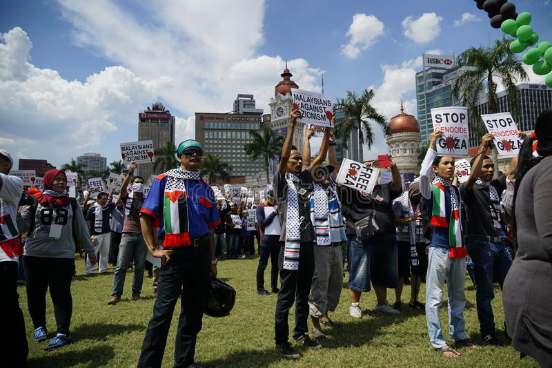 Свобода для ГАЗА стоковая фотография rf