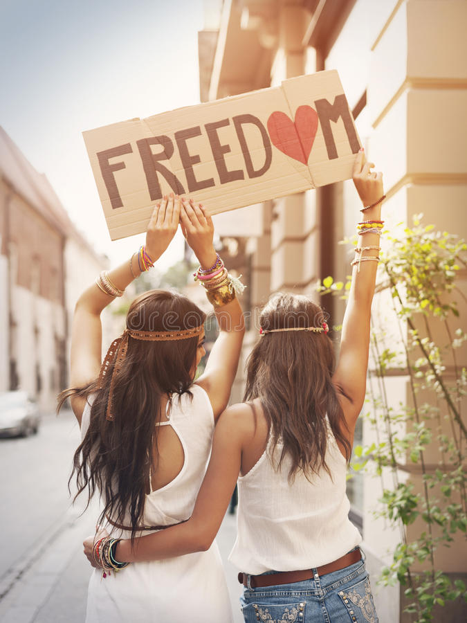 Свобода! стоковое фото