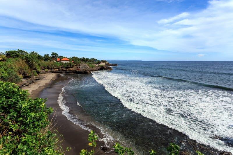 Свободный полет около серии Tanah, Бали Индонезия стоковое изображение rf