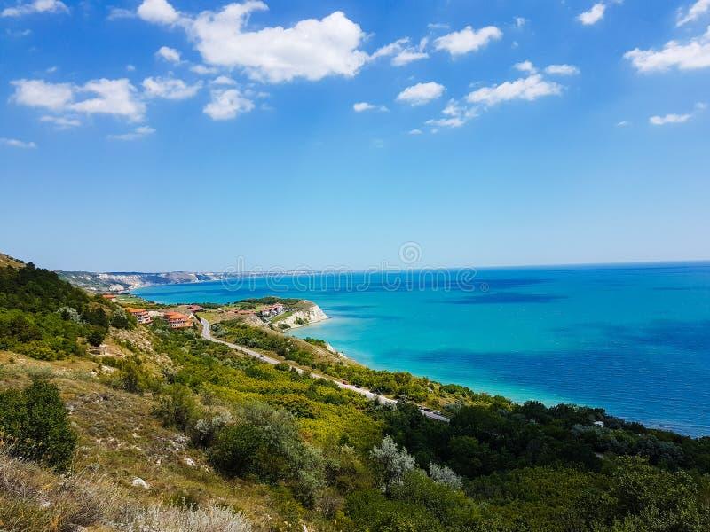 Свободный полет Чёрного моря стоковые изображения rf