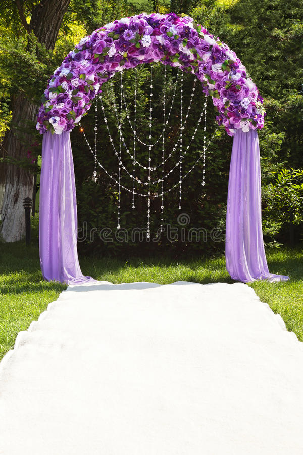 Свод венчания стоковое фото