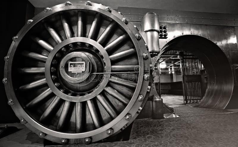 Свод, космос банковского хранилища стоковые изображения