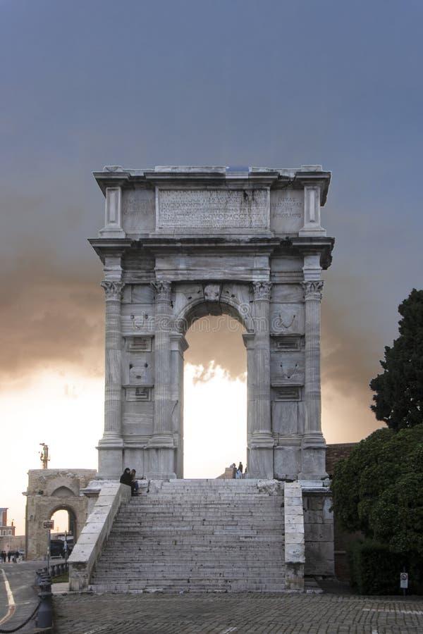 Свод Trajan стоковые изображения rf
