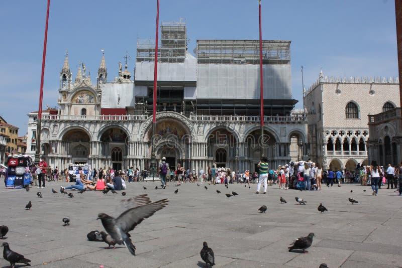 Своя базилика StMark квадрат и стоковое изображение rf