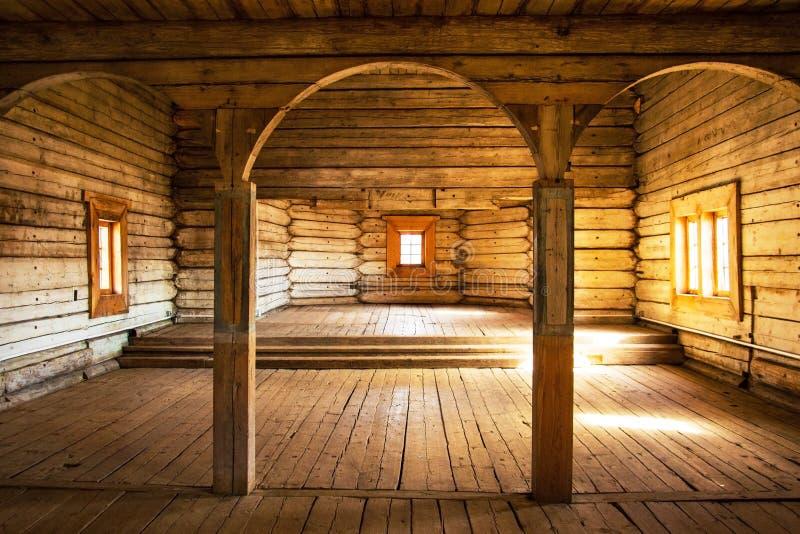 свод деревянный стоковая фотография