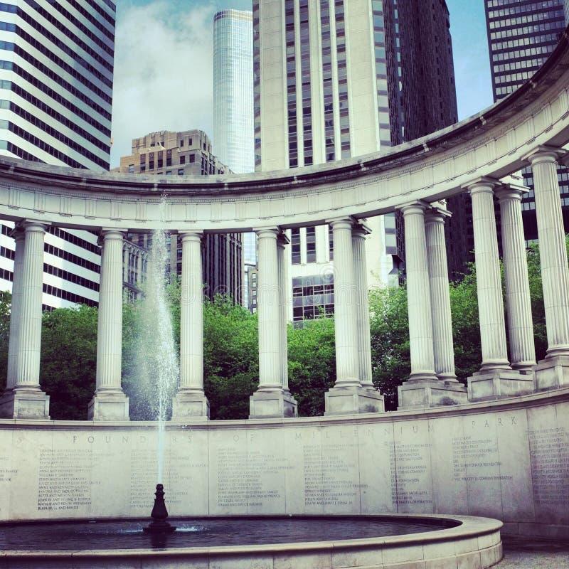 Свод Чикаго стоковое изображение
