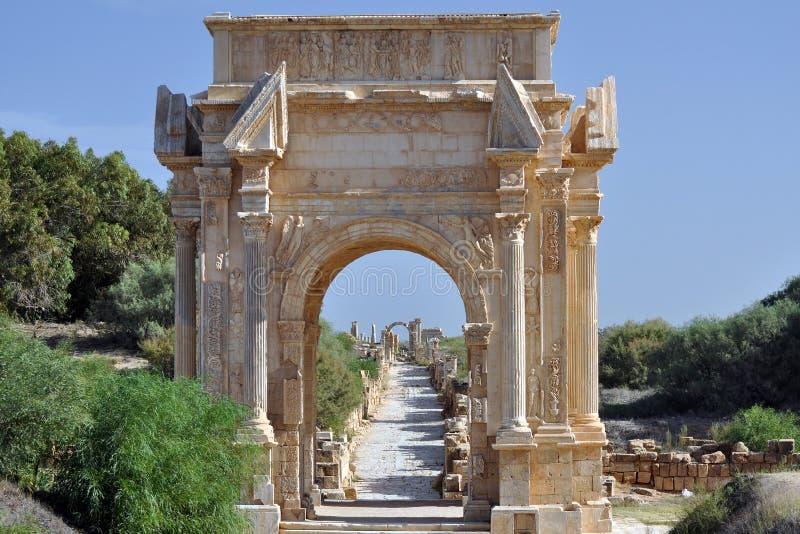Свод Septimius Severus стоковая фотография