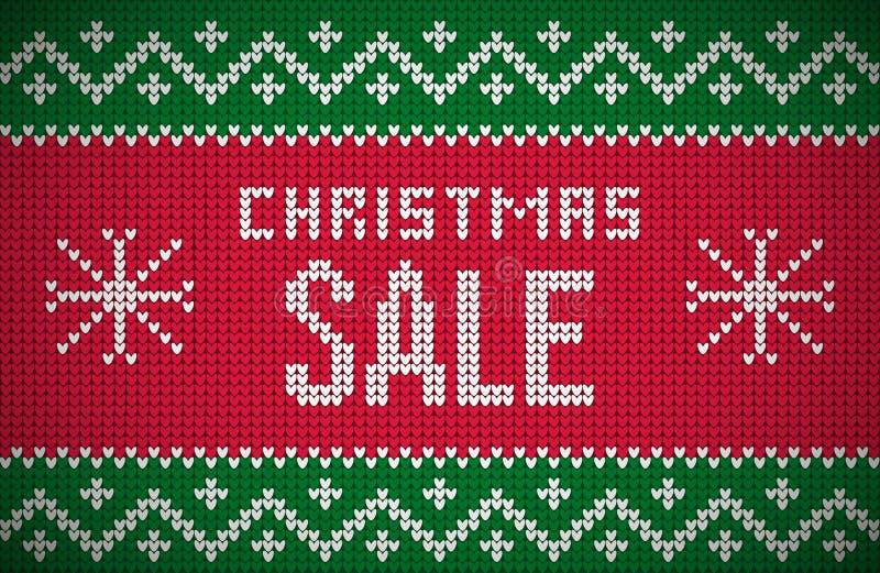 Связанная продажа рождества бесплатная иллюстрация