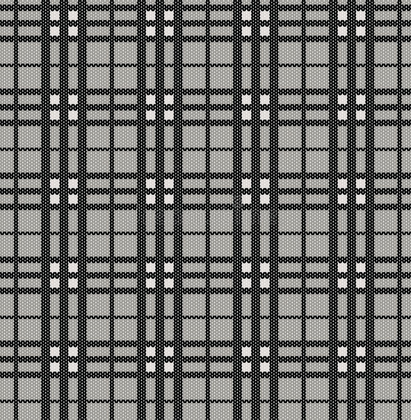связанная текстура шотландки картины иллюстрация вектора