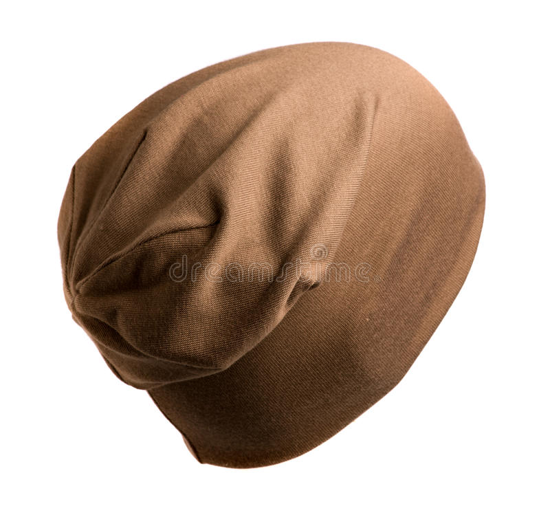 Связанная шляпа изолированная на белой предпосылке стоковые изображения