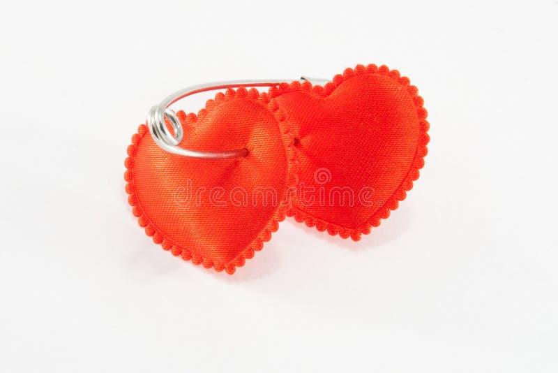 связанные сердца 2 стоковые изображения