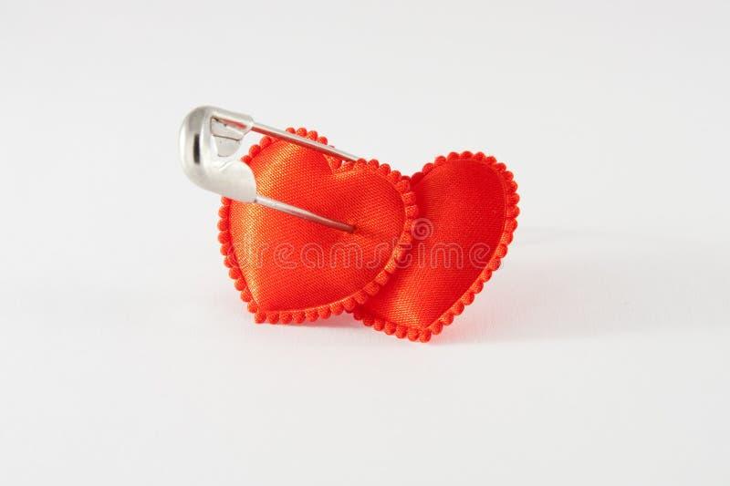 связанные сердца 2 стоковое фото rf