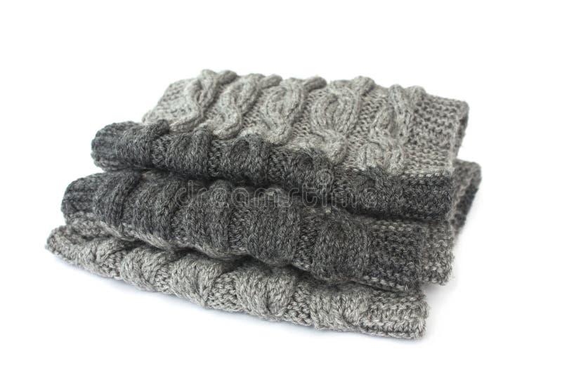 связанный шарф стоковая фотография rf