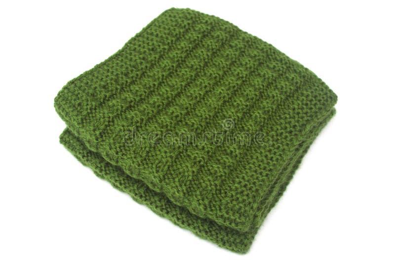связанный шарф стоковые изображения rf