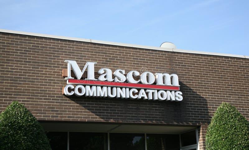 Связи Mascom стоковые изображения rf