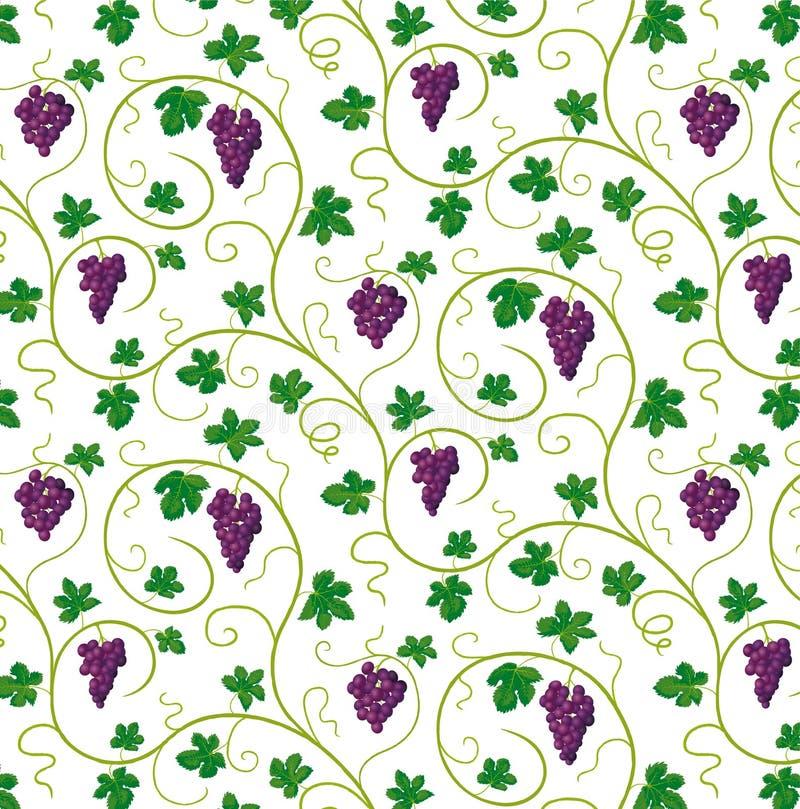 Связки винограда иллюстрация штока