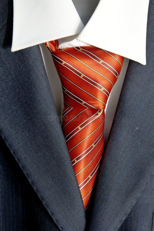 Связь в костюме стоковое изображение rf