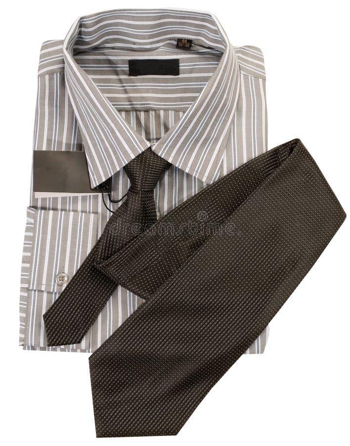 связь рубашки человека s стоковые изображения rf