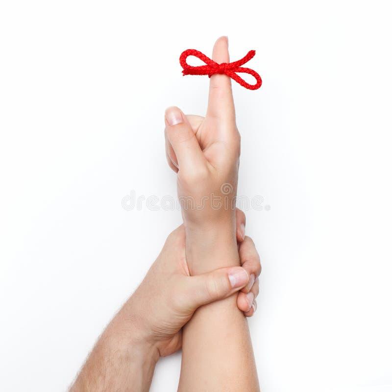 Связь руки стоковое изображение rf