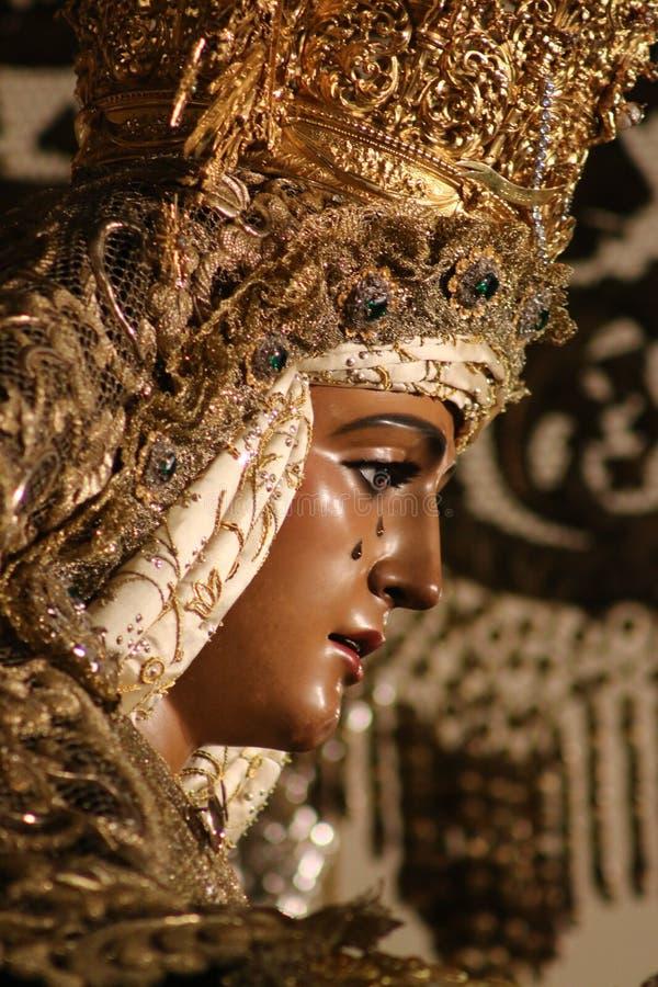 Святая неделя в Севилье (Испания) стоковое изображение rf