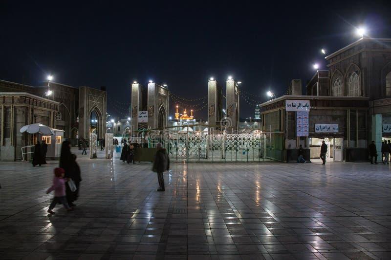 Святая святыня имама Reza стоковое изображение rf