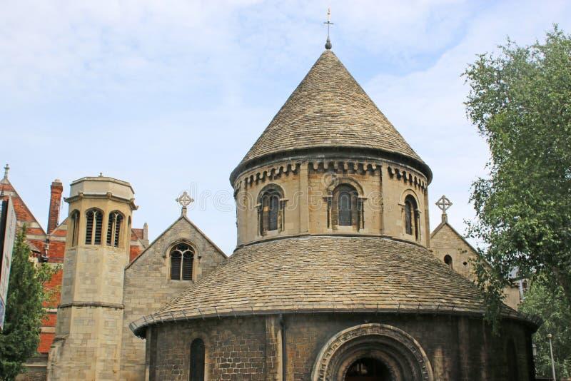 Святая церковь Sepulchre, Кембридж стоковые изображения rf