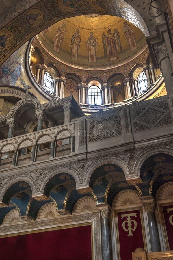 Святая sepulchral церковь стоковая фотография rf