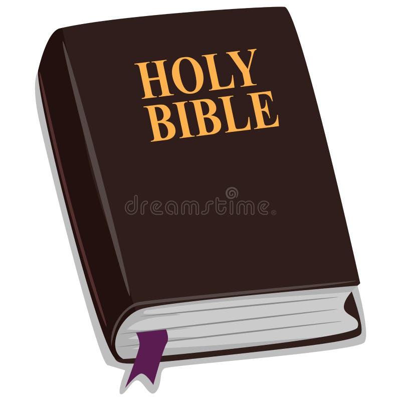 Святейшая библия иллюстрация вектора