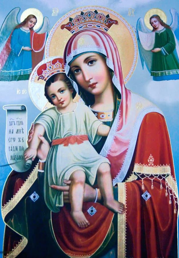 святейшая икона стоковое фото rf