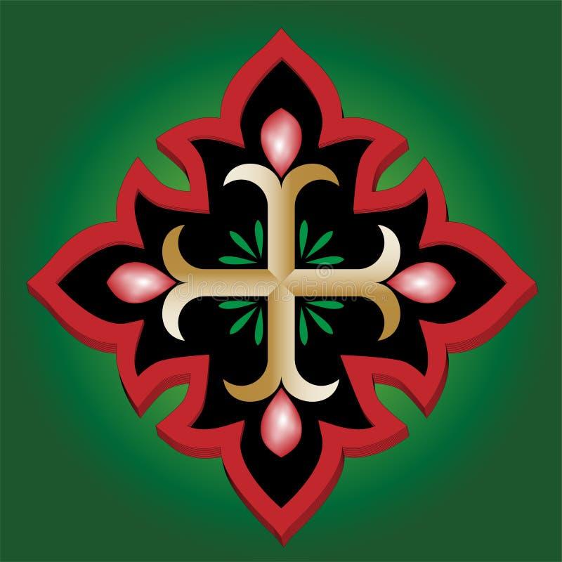 святейшее крови анкера христианское перекрестное стоковые изображения rf