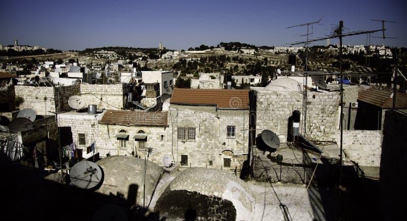 святейшее перемещение улицы земли Иерусалима стоковое фото