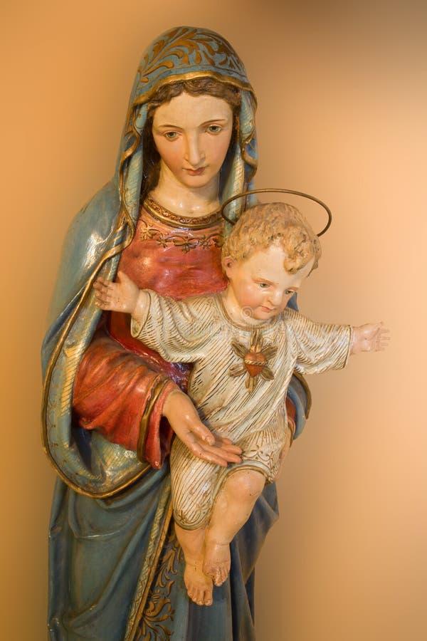 святейший jesus mary стоковое изображение rf