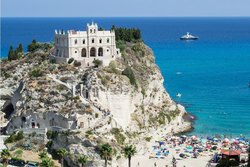 Святилище Santa Maria в Tropea стоковое изображение rf