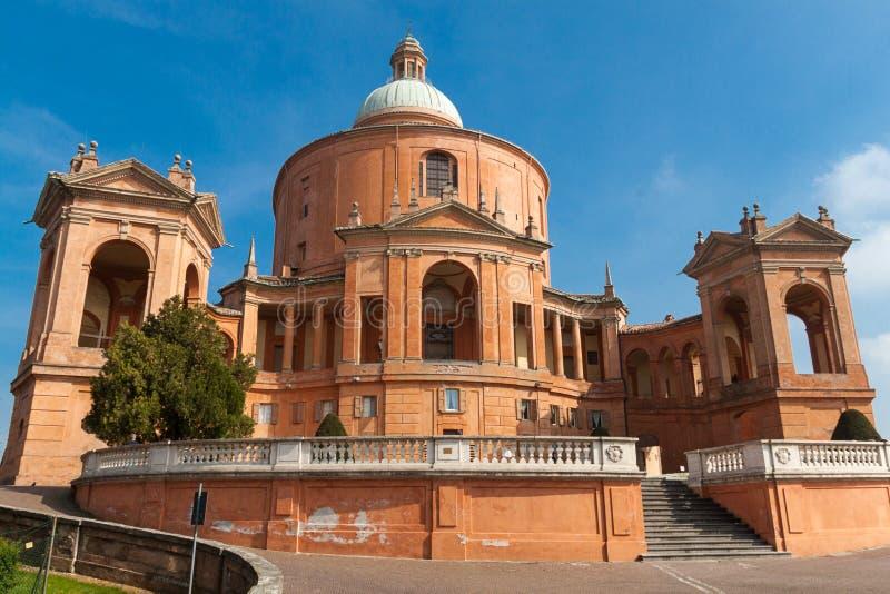 Святилище di San Luca Madonna стоковое изображение