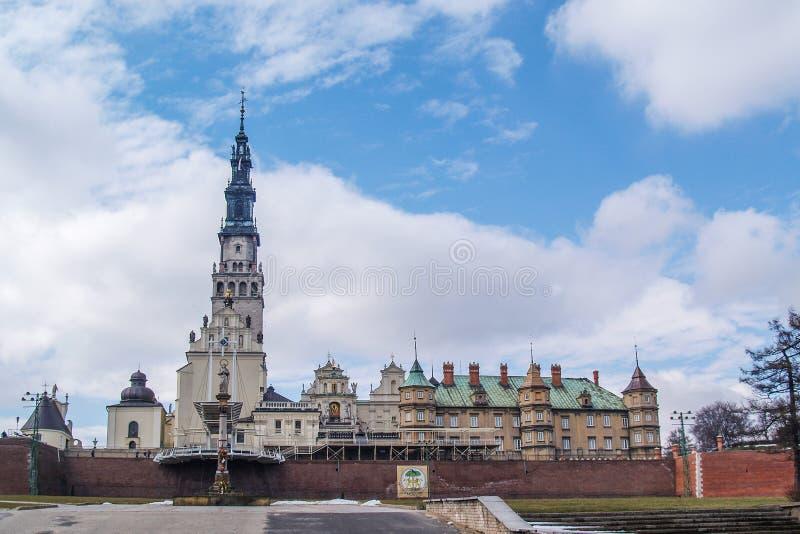 Святилище Jasna Gora в Czestochowa, Польше стоковое изображение rf