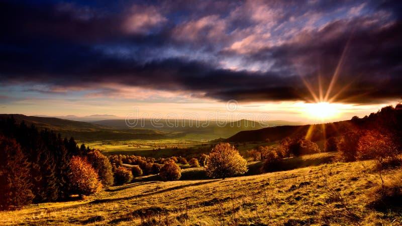 Святого ландшафта Румынии озеро Ана красивого вулканическое стоковая фотография rf