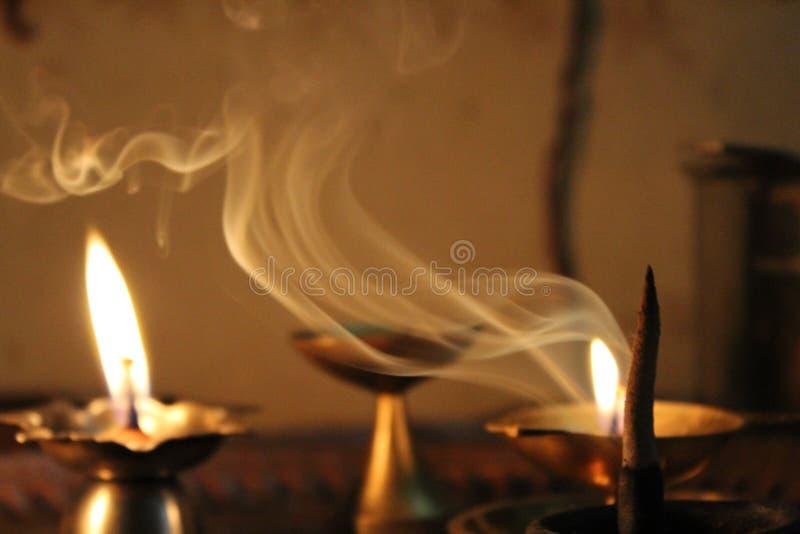 Святое пламя стоковая фотография rf