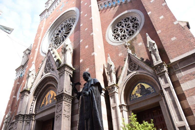 """Святой Антоний церков Падуи, альтернативно известный как di Padova Sant """"Antonio в Стамбуле, Турция стоковые фотографии rf"""