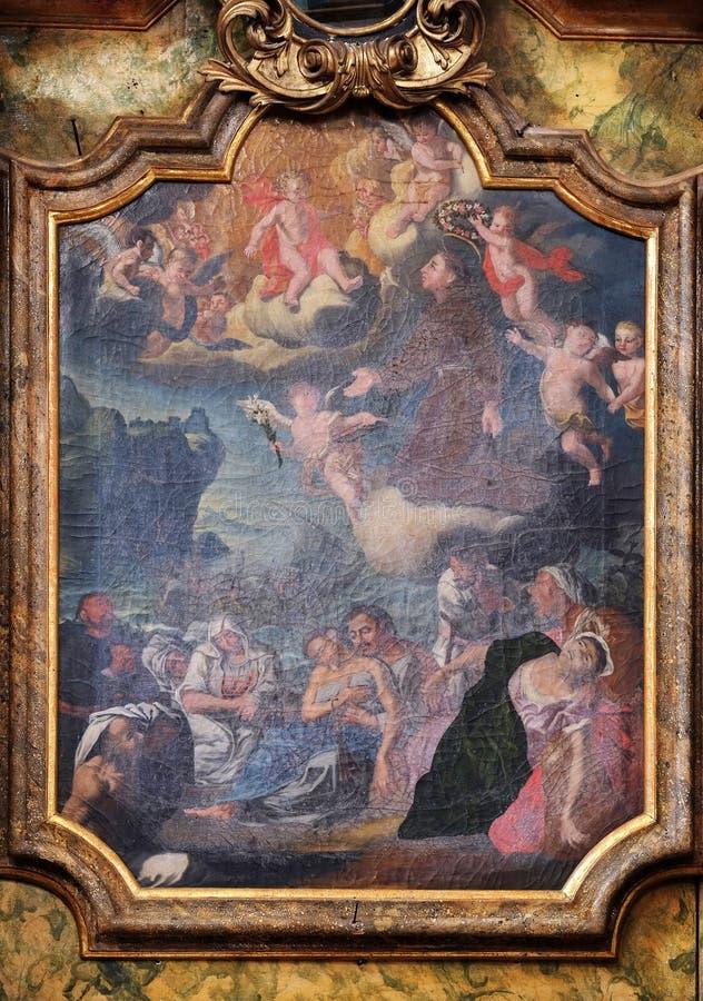 святой Антония padua стоковое изображение