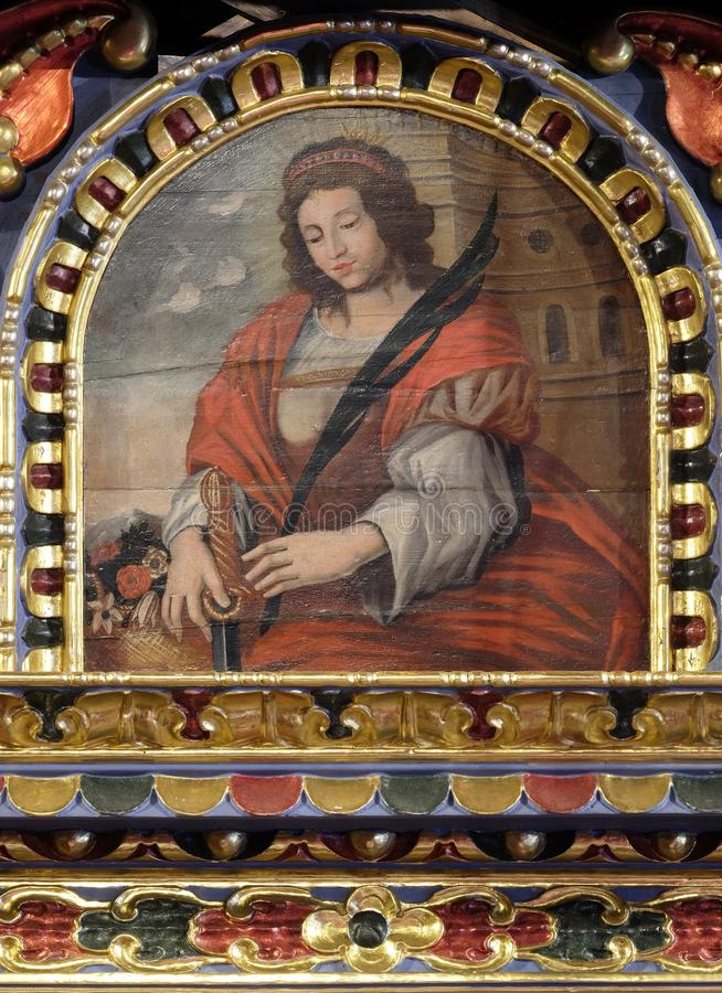 Святой Барвара стоковые фото