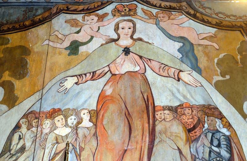 Святой Барвара стоковое изображение rf