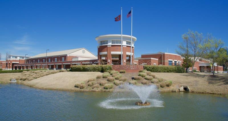 Святой Венедикт на средней школе Мемфисе Auburndale, Теннесси стоковое фото