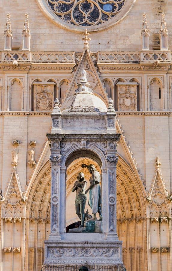 Святой Джин-Baptiste собора стоковые фото