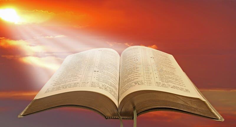 Святой духовный свет стоковые изображения